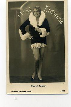 9, Hansi Sturm, pre-WW2, german, drag queen, transvestite, Berlin