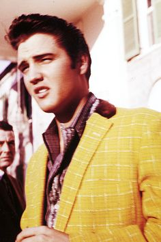 Elvis Presley at Graceland, 1957. Photo by Charles Nicholas.