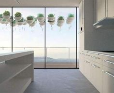 Hanging kitchen pots