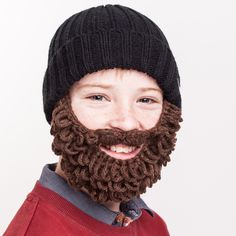 Just like the adult size, this Kids size is our favorite now product and marks the start of a new generation of our Patented Beard hat designs!