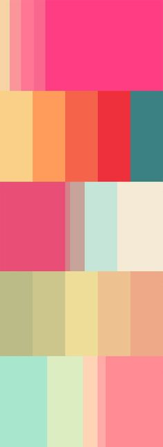 Color affects us in powerful ways. Whether warm and bright or cold and dark, certain tones can impact the way we perceive the messages that surround us. As visual communicators, many of us love experimenting with new color combinations to see where they take our design concepts. To help you out, we've handpicked 20 bold palettes from the most popular ones uploaded to Colourlovers.