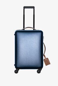 hand luggage trolley > BREE   DIE ZEIT 10 dark blue - Polycarbonate