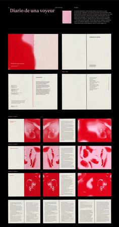 Erotic book collection on Behance Graphic Design Books, Book Design Layout, Graphic Design Inspiration, Layout Inspiration, Mise En Page Magazine, Book And Magazine, Editorial Layout, Editorial Design, Buch Design
