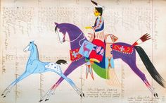 Women in George Fletts Ledger Art, George is such a great artist, and he surely is missed by all!