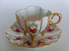 Tressemanes & Vogt Limoges Porcelain (France) — Cup and Saucer, 1892-1907 (700x524)