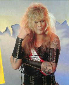 Mean Man Chris Holmes in W.A.S.P. #ChrisHolmes #MeanMan #wasp