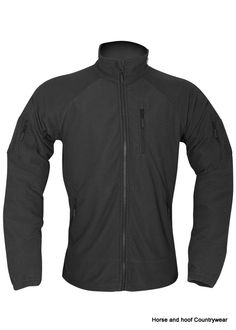 414744748aa3 Viper Tactical Fleece Jacket - Black