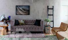 parede + sofá