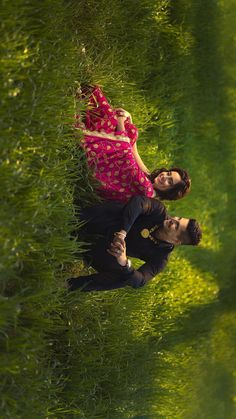 Grass field and our warmth. Indian Wedding Couple Photography, Wedding Couple Photos, Couple Photography Poses, Candid Photography, Wedding Couples, Pre Wedding Shoot Ideas, Pre Wedding Poses, Pre Wedding Photoshoot, Photo Poses For Couples
