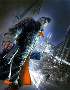 Watch Dogs, a game that has the promise to start a new genre of games!!! totally exited