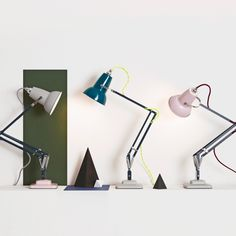 Anglepoise® Original 1227 Mini Desk Lamp - Studio Edition.