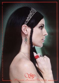 Love this ad for Solange Azagury-Partridge jewelry. Jewelry Ads, Fine Jewelry, Jewelry Design, Jewellery, Liberty Ross, Sonia Delaunay, Jewelry Editorial, Louise Bourgeois, Partridge