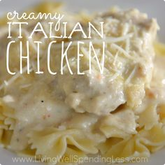 Creamy Italian Chicken Square