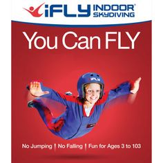 iFLY Indoor Skydiving Flight Package E-Card