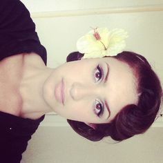 1940s hairdo for work #hairstyles #pinup #1940s