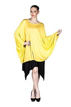 Women's 2016 Fashion Tunic Top Blouse with Long Sleeve Flowy Loose Tunic Shirt (Yellow) LuckyBEBE http://www.amazon.com/dp/B01DQGX23G/ref=cm_sw_r_pi_dp_Y51.wb0192CND