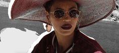 Beyoncé - Scarab hoop earrings