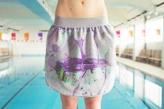 Flo. shorts. violet