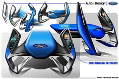 This Could Be The Ford Steering Wheel Of The Future Yahoo Autos