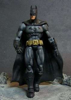 Batman Arkham Style (DC Universe) Custom Action Figure