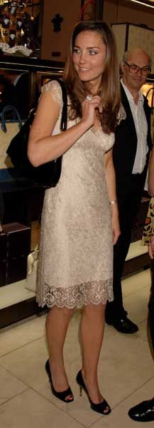 """Kate Middleton attends the book launch party of """"The Young Stalin: The Adventurous Early Life Of The Dictator 1878-1917"""" by Simon Sebag Montefiore, at Asprey May 14, 2007 in London, England."""