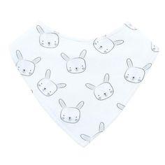 Mister Fly Bunny Dribble Bib #oliverthomas #misterfly #bib #dribblebib #bunny #rabbit