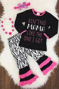 """""""Ain't No Mama Like The One I Got"""" 2PC Set"""