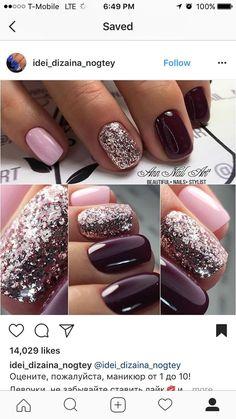 Short Nail Glam #nails #nailart #fbloggers #bbloggers #fashionbloggers #fallnails