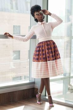 Corporate African Print Styles You Can Don To Your Office African Inspired Fashion, African Print Fashion, Fashion Prints, Fashion Design, African Attire, African Wear, African Women, African Print Dresses, African Dress