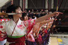 Kyudo Girl | japan # archery # hakama