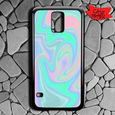 Hologram Holographic Style Samsung Galaxy S5 Black Case