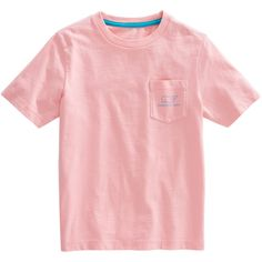 Shop Short-Sleeve Vintage Whale Pocket T-Shirt at vineyard vines ❤ liked on Polyvore featuring tops, t-shirts, vineyard vines, vineyard vines t shirt and vineyard vines tees