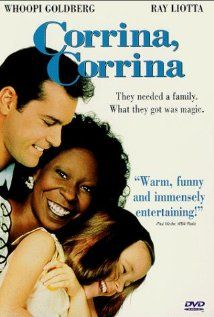 """CORINA, CORINA"" = Movie --- When Manny Singer's wife dies, his young daughter Molly becomes mute  withdrawn. To help cope with looking after Molly, he hires sassy housekeeper Corrina Washington, who coaxes Molly out of her shell  shows father  daughter a whole new way of life. Manny  Corrina's friendship delights Molly  enrages the other townspeople.   _____________________________ Reposted by Dr. Veronica Lee, DNP (Depew/Buffalo, NY, US)"