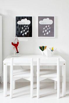 Inspiração para quartos de crianças que vem das nuvens!