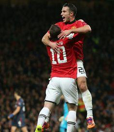 efecff815 Goal againts Olympiacos Manchester United
