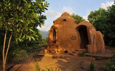 Tribewanted, John Obey Beach, Sierra Leone, Africa: Earth Dome (Image: © Tribewanted)