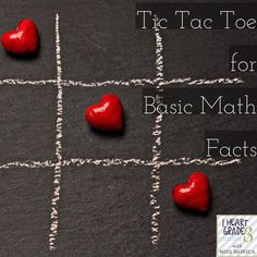 Using Tic Tac Toe to Practice Basic Facts - I Heart Grade 3 Teaching Time, Teaching Math, Creative Teaching, Carpe Diem, Math Activities, Teaching Resources, Classroom Resources, Math Classroom, Birmingham