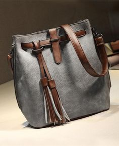 PU Leather Bucket Vintage Shoulder Bags. Seamido. Purchase Vintage Womens  Bucket Bag Leather Crossbody ... 115b11823601c