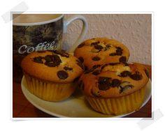 Muffins mit Schokotröpfchen: Muffins, Cupcakes & Tartelettes