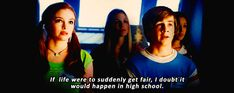 """And there was just sooooo many classic lines of dialogue. 