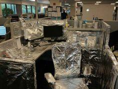 Foiled again! #officeprank #CTCTlife