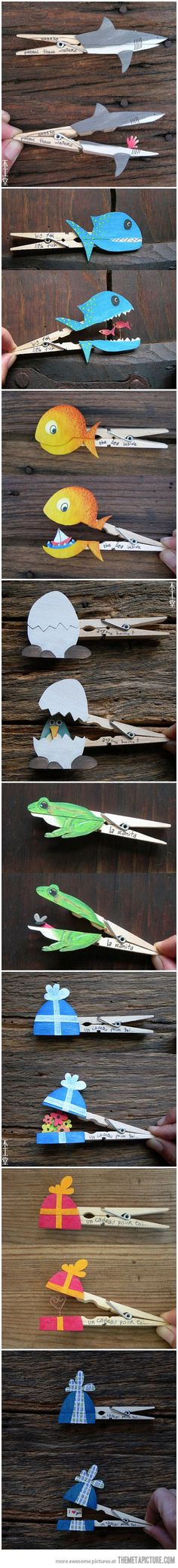 Fun With Clothespins…Jonah and the Whale craft idea