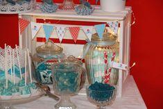 Ankerwerfer: Deko / Candy Bar für Babyshower