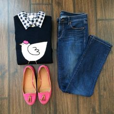 Gingham & French Hen Style (Instagram @bma_21)