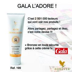 """[REVUE DE PRESSE] """"SUN IS SHINING"""" ☀☀☀ Préparez les beaux jours lors de vos prochaines ventes ! http://www.foreverliving.fr/"""