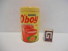 Annons på Tradera: Marabou   OBOY    Jordgubb     250  g     ( ovanlig )