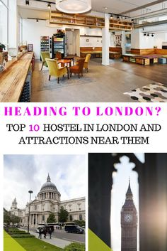where to stay in london | top hostels in london