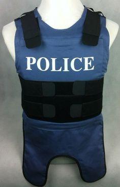 Body Armor/Bullet Proof Vest/bulletproof vest POLICE NIJ 0101.04 IIIA Inner Bulletproof Vest-GTV-4
