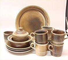 My dish set: Lava by Porsgrund, Norway. Dish Sets, The Dish, Wood Design, Scandinavian Style, Lava, Norway, Stoneware, Crisp, Ceramica