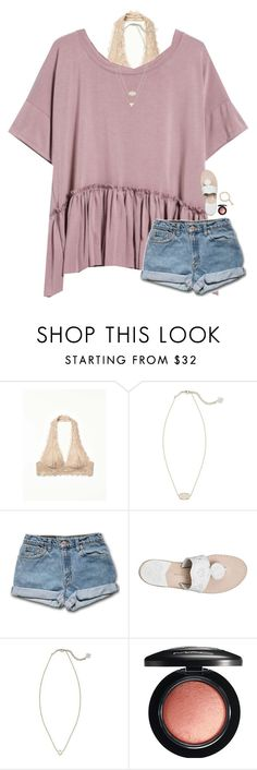 """I'm making custom collections based off of what you like. Comment below for one!"" by classynsouthern ❤ liked on Polyvore featuring Free People, Kendra Scott, Jack Rogers and MAC Cosmetics"